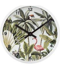 zegar ścienny jungle