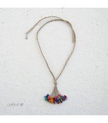 colorful kolorowy naszyjnik
