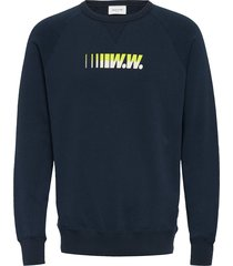 hester sweatshirt sweat-shirt trui blauw wood wood