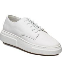 394g white leather låga sneakers vit gram