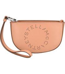 stella mccartney logo marlee clutch bag