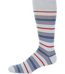 boat striped crew socks