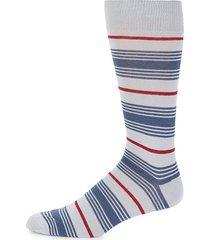boat striped crew socks
