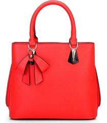 free shipping women leather handbags bowknot medium shoulder bags k359-2