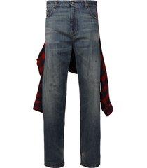 hybrid shirt pants dirty dark blue