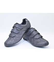 zapatillas para ciclismo de ruta smart ss sm0001m negra