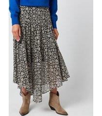 isabel marant étoile women's pabna skirt - black - fr 40/uk 12