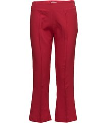the fire wijde broek rood fall winter spring summer