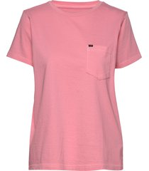 garment dyed tee t-shirts & tops short-sleeved rosa lee jeans