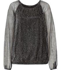 maglia metallizzata (nero) - bodyflirt