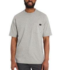 wolverine men's guardian cotton pocket tee light grey heather, size xxl
