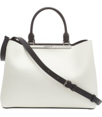 dkny farrah leather tote, created for macy's