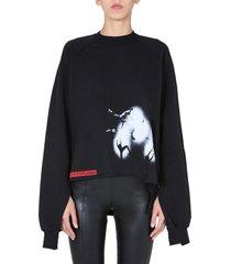 drkshdw oversize fit sweatshirt