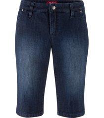 bermuda elasticizzato comfort (blu) - john baner jeanswear