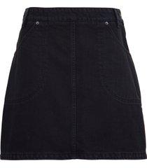 kenzo black denim short sleeves