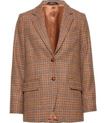 castillon checked blazer blazers over d blazers brun morris lady