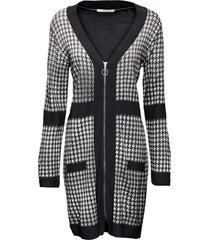 abito in maglia con cerniera (bianco) - bodyflirt boutique