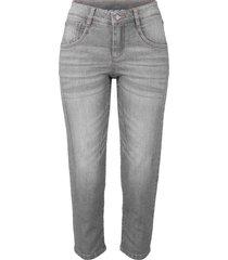 jeans capri elasticizzati comfort (grigio) - john baner jeanswear