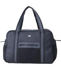maletin deportivo negro maqui sportswear para mujer-negro