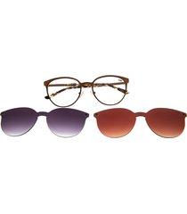 montura de gafas con lente extra (multi) - lvmu0271 - morado