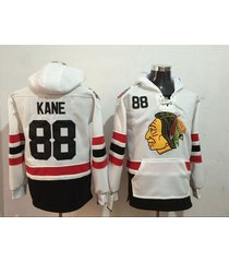 men's chicago blackhawks 88 patrick kane hockey pullover hoodie jersey