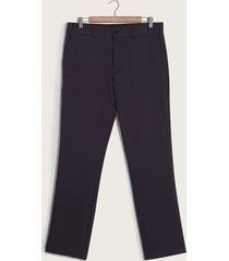 pantalón formal unicolor azul 30