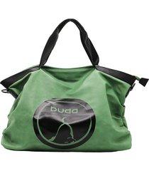 bolso verde buda