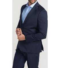 chaqueta formal liso navy perry ellis