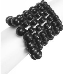 natori beaded cuff bracelet, women's