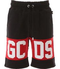 gcds logo bermuda joggers