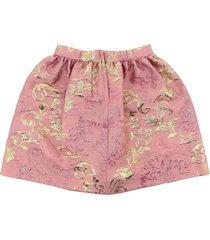 dolce & gabbana floral jacquard midi skirt