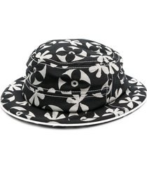 10 corso como floral print hat - black