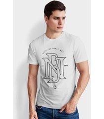 camiseta base nobre nb t- shirt masculina - masculino