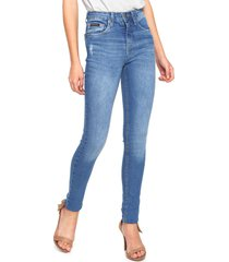 calça jeans calvin klein jeans jegging five pocket azul