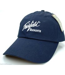 ahead classic cut relaxed fit cap/hat - fairfield resorts timeshares