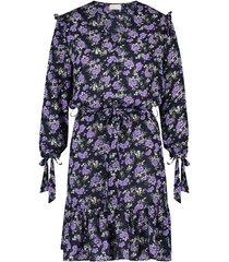 freebird jurkje maze navy/purple blauw