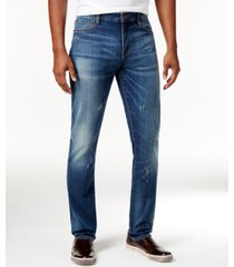 william rast men's slim-fit hollywood stretch jeans