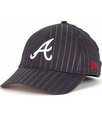 atlanta braves - new era 39/30  mlb frozen rope baseball cap- sizes s/m &  m/l