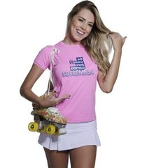 camiseta funfit só corro pra comer sobremesa feminina