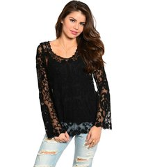romantic sexy boho lace jrs tunic in white or black, party or casual dress-up