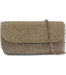 goldtone beaded evening bag clutch