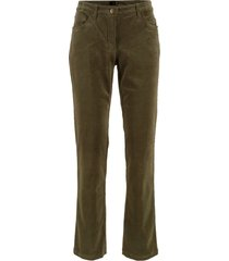 pantaloni in velluto (verde) - bpc bonprix collection
