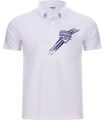 polo superior color blanco, talla s