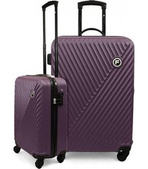 pack 2 maletas s-l limit morado f