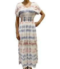 be bop juniors' tie-dye maxi dress