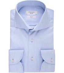 overhemd profuomo slim fit sky blue