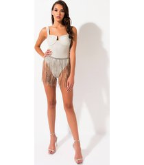 akira out on the town 3d sparkle bodysuit