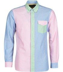 overhemd lange mouw polo ralph lauren chemise ajustee funshirt en oxford col boutonne logo pony playe