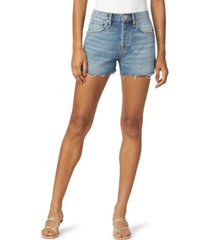 hudson jeans lori cotton cutoff denim shorts