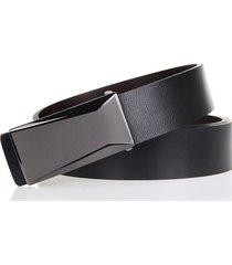 cinturón de hombres, cinturón de cinturón salvaje-negro